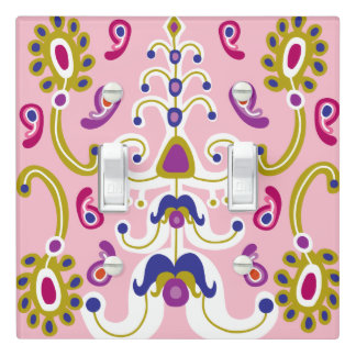 Reign of Pink Light Switch Cover