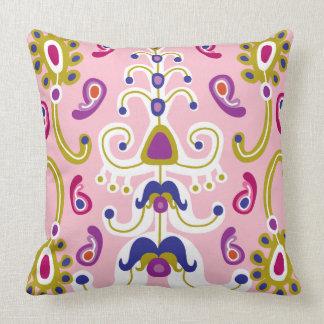 Reign of Pink Throw Pillow