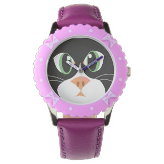 Reigning Cats & Dogs_Furry Faces_Cleo Wrist Watch