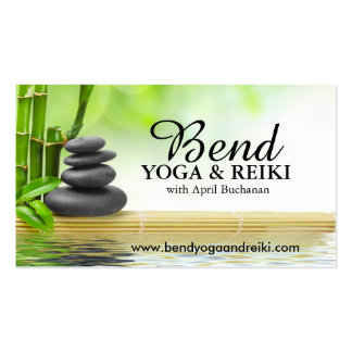 Reiki and Yoga Business Cards