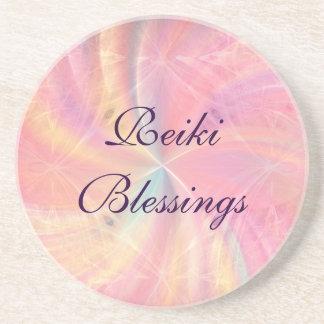 Reiki Blessings Beverage Coaster