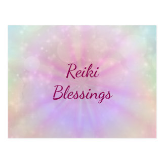 Reiki Blessings Postcard