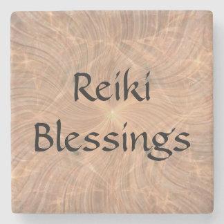 Reiki Blessings Stone Coaster
