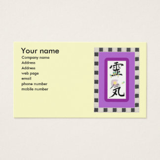 Reiki Business Card