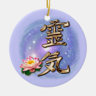 Reiki Ceramic Ornament
