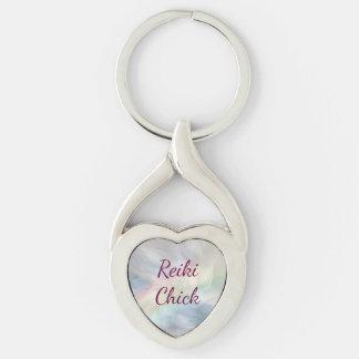Reiki Chick Keychain