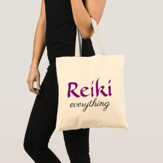 Reiki Everything Tote Bag