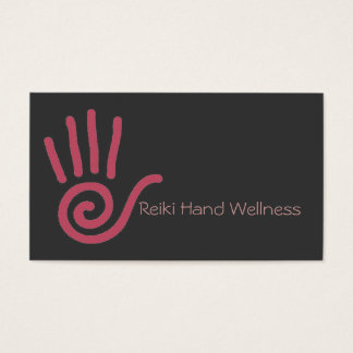 Reiki Hand Business Card