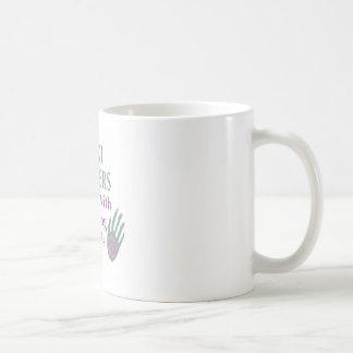 Reiki Healers Do It with Healing Hands Classic White Coffee Mug
