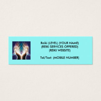 Reiki/Healing Mini Business Card