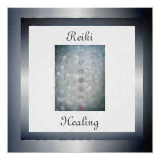 Reiki Healing Poster