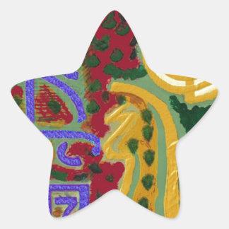 Reiki Healing Symbols by Navin Joshi Artist Canada Star Sticker
