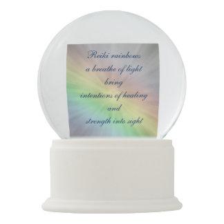 Reiki Healing Wishes Snow Globe