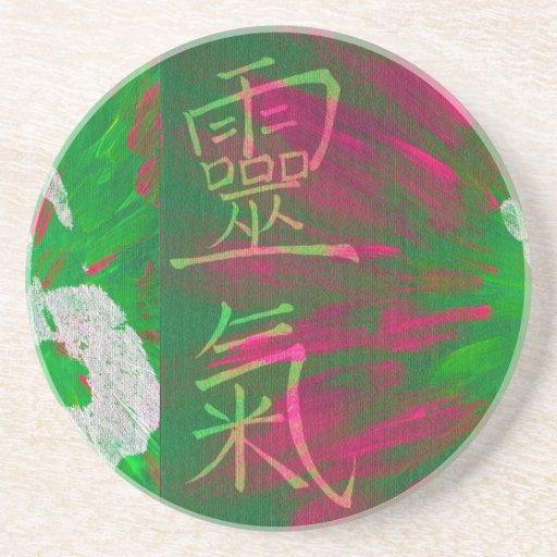 Reiki - Healings Hand Coasters