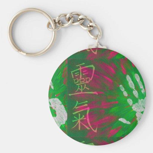 Reiki - Healings Hand Keychains