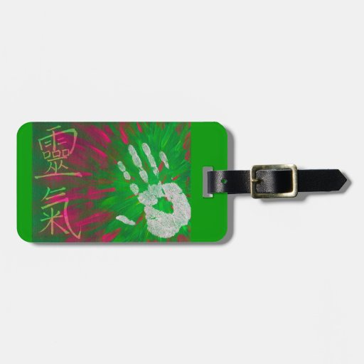 Reiki - Healings Hand Travel Bag Tags