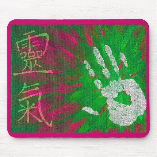 Reiki - Healings Hand Mousemat