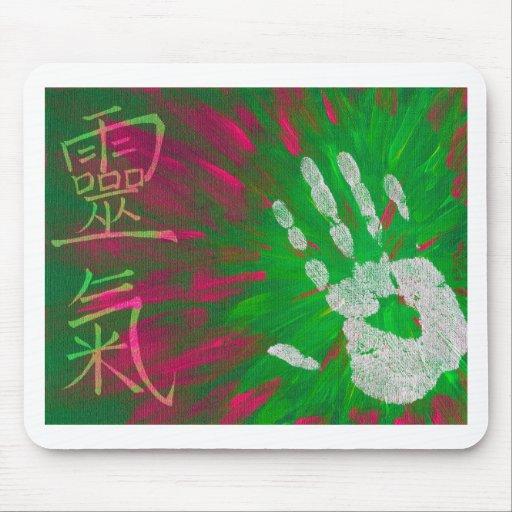 Reiki - Healings Hand Mouse Pads