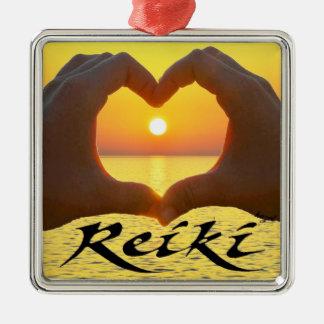 Reiki, heart,Hands, Sun, Healing Energy , Ornament