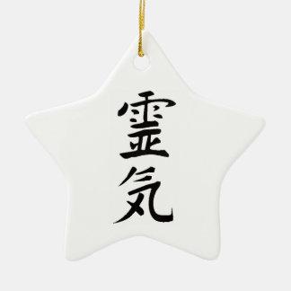 Reiki Kanji Ceramic Ornament