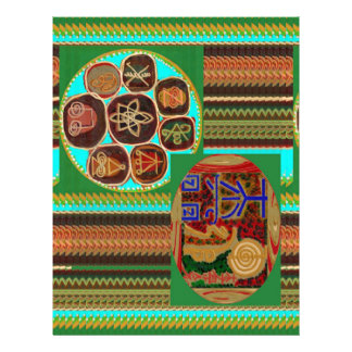 REIKI Karuna Healing Symbols Vintage CARE GIFTS 99 Customized Letterhead