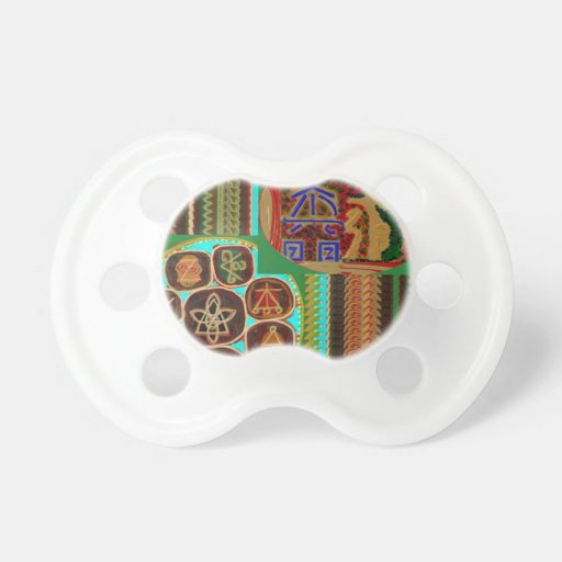 REIKI Karuna Healing Symbols Vintage CARE GIFTS 99 Pacifier