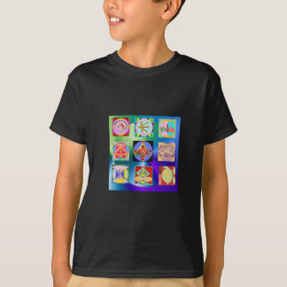 Reiki Kids' Basic Hanes Tagless T-shirt tshirts