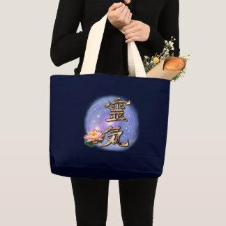 Reiki Large Tote Bag