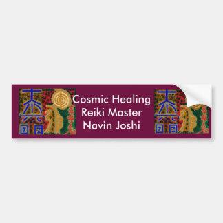 REIKI Main Healing Symbols Bumper Sticker