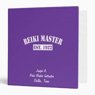 Reiki Master Binder