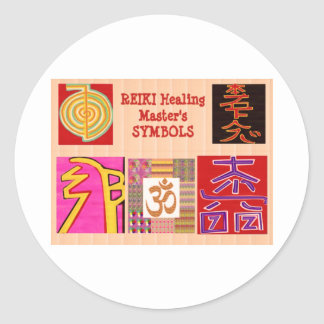 REIKI Master Healing ART Symbols - by NAVINJoshi Stickers