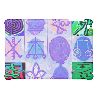 Reiki n Karuna Symbols iPad Mini Cases
