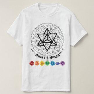 Reiki Ninja Chakra Yoga Sacred Geometry Shirt