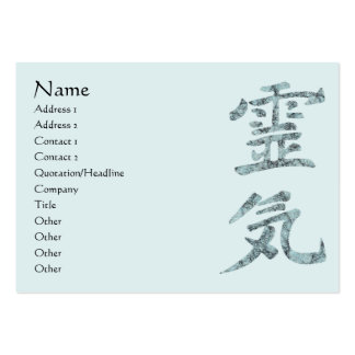 Reiki Pack Of Chubby Business Cards