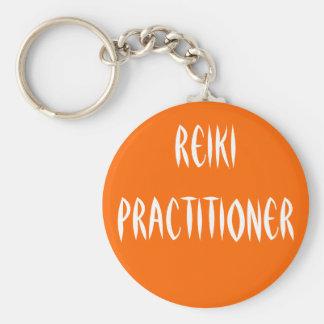 Reiki Practitioner Keychain