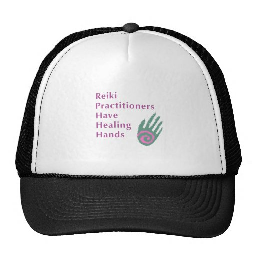 Reiki Practitioners Have Healing Hands Hat