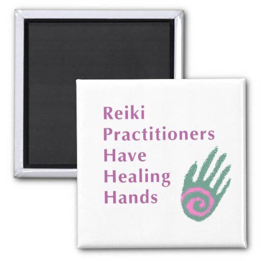 Reiki Practitioners Have Healing Hands Magnets