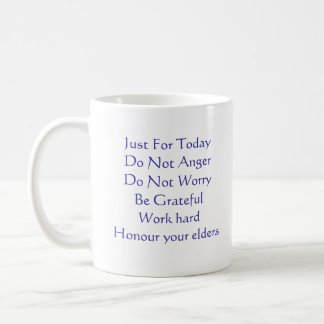 Reiki Principles Coffee Mug