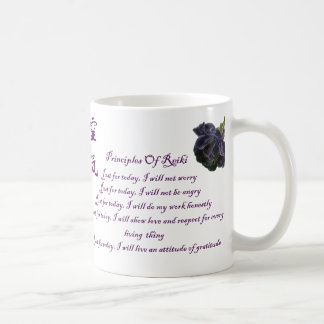 Reiki Principles Just For Today Coffee Mug