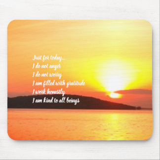 Reiki Principles Sunrise Mousepad