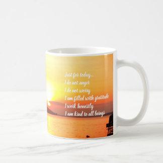 Reiki Principles Sunrise Mug
