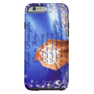 Reiki Principles Tough iPhone 6 Case