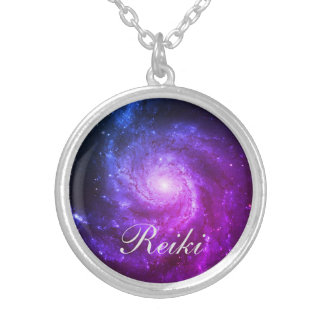 Reiki Silver Plated Necklace