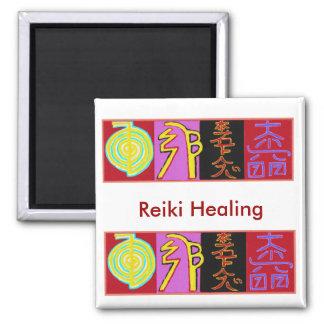 Reiki Square Magnet