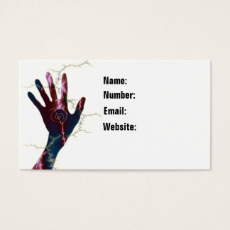 Reiki Symbol Business Card