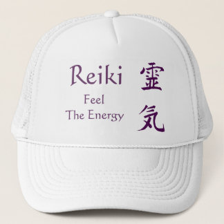Reiki Symbol Feel The Energy Hat