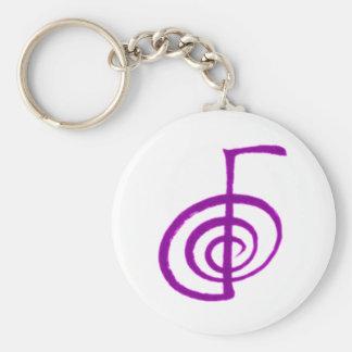 Reiki Things Basic Round Button Keychain