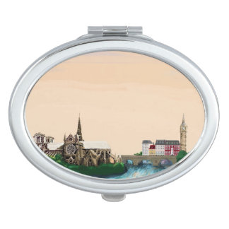 Reimagined Europe Makeup Mirrors