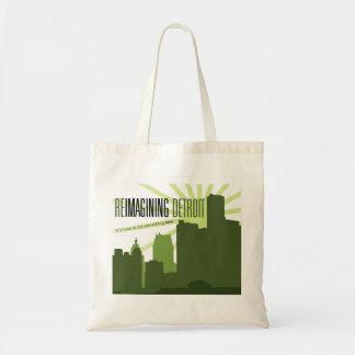Reimagining Detroit Tote Bag