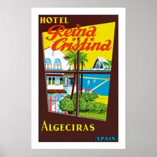 Reina Cristina ~ Algeciras Poster